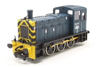 31-353-PO01 Class 03 Shunter 03197 in BR Blue  - Pre-owned - imperfect box