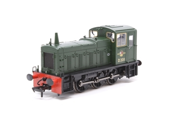 31-360-PO10 Class 03 Shunter D2011 in BR Plain Green - Pre-owned - Like new