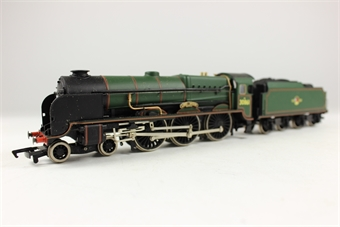 31-403 Lord Nelson Class 4-6-0 30861 'Lord Anson' in BR Green Livery with Late Crest
