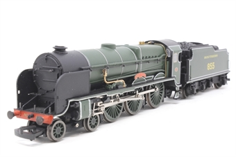 31-404-PO08 Lord Nelson Class 4-6-0 855 'Robert Blake' in SR Maunsell Green - Pre-owned - Like new