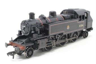 31-454-PO02 Class 2MT Ivatt 2-6-2T 41286 in BR black with early emblem - Pre-owned - Like new