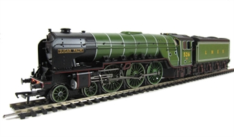 "31-530 Class A2 4-6-2 526 ""Sugar Palm"" in LNER lined apple green."