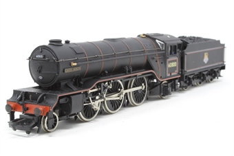 """31-551-PO07 Class V2 2-6-2 60800 """"Green Arrow"""" in BR black with early emblem - Pre-owned - sold as seen, non runner, imperfect box"""