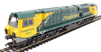 31-590 Class 70 70015 in Freightliner livery with air intake modifications