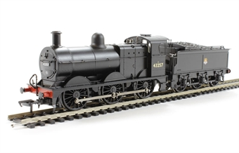 31-626A Class 3F 0-6-0 43257 in BR black with early emblem