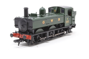 31-635-PO07 Class 64xx 0-6-0 Pannier tank 6407 in GWR green - Pre-owned - Like new