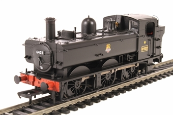 31-636A Class 64xx 0-6-0PT pannier tank 6422 in BR black with early emblem