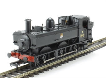 31-636 Class 64xx 0-6-0 Pannier tank 6417 in BR black with early emblem