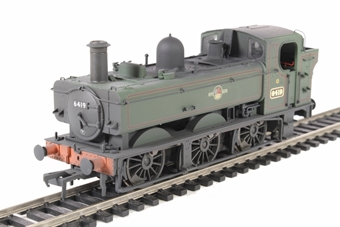 31-638 Class 64xx 0-6-0PT pannier tank 6419 in BR lined green with late crest - weathered