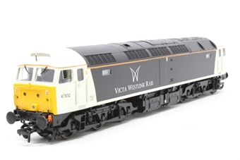 31-650-PO04 Class 47 47832 in Victa Westlink Livery - Pre-owned - renumbered and repainted