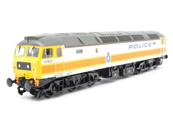 31-650Q-PO01 Class 47/8 47829 in Police livery - Limited Edition for Kernow Model Rail Centre - Pre-owned -  imperfect box