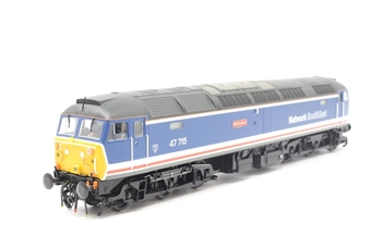 31-657-PO05 Class 47/7 47715 'Haymarket' in BR Network Southeast Revised Livery - Pre-owned - DCC fitted- detailed buffer beam- etched nameplates- wear on nameplates- imperfect box