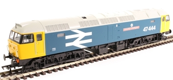 """31-660A Class 47/4 47444 """"University of Nottingham"""" in BR large logo blue"""