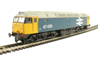 31-660 Class 47/4 47436 in BR Large Logo Blue