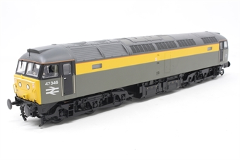 31-661DS-PO03 Class 47/3 47346 in BR Civil Engineers 'Dutch' - DCC sound fitted - Pre-owned - Like new