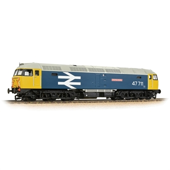 """31-665SF Class 47/7 47711 """"Greyfriars Bobby"""" in BR large logo blue - Digital sound fitted"""