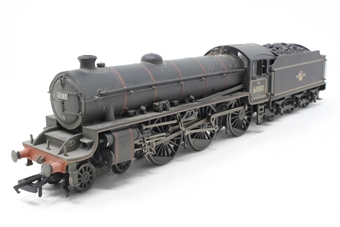 31-716-PO05 Class B1 61180 in BR lined black with late crest - weathered - Pre-owned - Like new