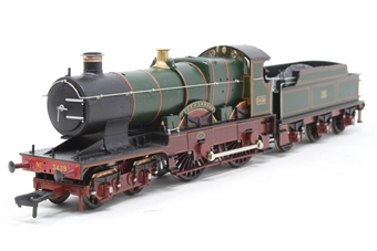 """31-727-PO12 Class 3700 City 4-4-0 3439 """"City Of London"""" GWR Green Monogram - Pre-owned - Like new"""