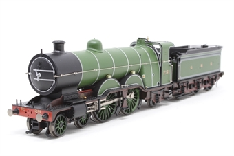 31-760NRM-PO03 Class C1 'Atlantic' 4-4-2 251 in GNR green - NRM Special Edition - Pre-owned - Like new - Imperfect box £175