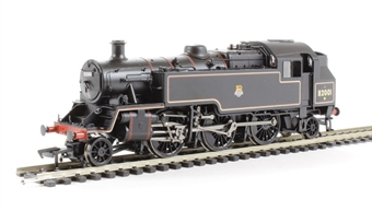 31-979 Standard Class 3MT tank 82001 in BR lined black with early emblem