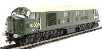 31-995 Class D/16 LMS 10000 in BR Brunswick Green Lined Orange & Black