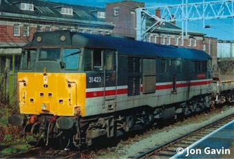 3141 Class 31/4 in Intercity Mainline livery - unnumbered