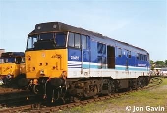 3142 Class 31/4 in Regional Railways livery - unnumbered