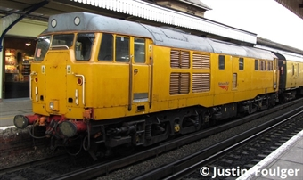 3144 Class 31/4 in Network Rail yellow - unnumbered