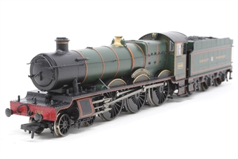 "32-003-PO10 Class 4900 Hall 4-6-0 4936 ""Kinlet Hall"" in Great Western green with crest - Pre-owned - Like new"