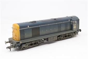 32-031-PO03 Class 20 20052 in BR Blue with Indicator Discs (weathered) - Pre-owned - DCC fitted, on coupling replaced with kadee coupling