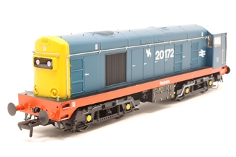32-035K-PO Class 20 20172 'Redmire' in BR Blue with Thornaby red stripe - Limited Edition for Bachmann Collectors Club - Pre-owned - Like new
