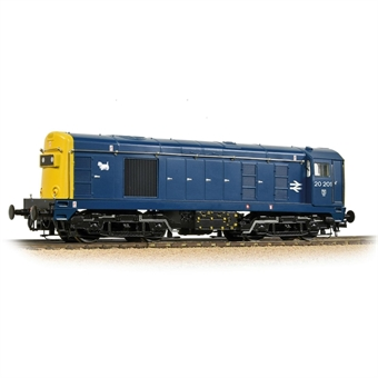 32-046SF Class 20/0 20201 in BR blue with headcode boxes - Digital sound fitted