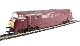 32-050DC Class 42 Warship D809 'Champion' in BR Maroon (DCC Fitted)