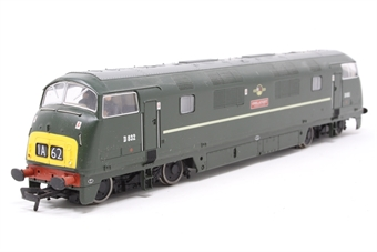 32-051-PO01 Class 42 Warship D832 'Onslaught' in BR Green with Late Crest - Pre-owned - missing buffer