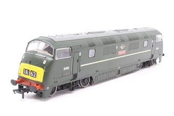 32-051-PO03 Class 42 Warship D832 'Onslaught' in BR Green with Late Crest - Pre-owned - missing coupling hook