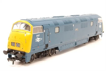 32-056DC-PO09 Class 42 Warship D827 'Kelly' in BR blue - DCC fitted - Pre-owned - Like new