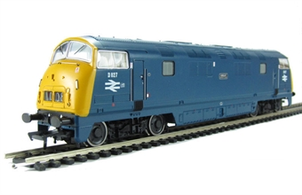 32-056DC Class 42 Warship D827 'Kelly' in BR blue - DCC fitted