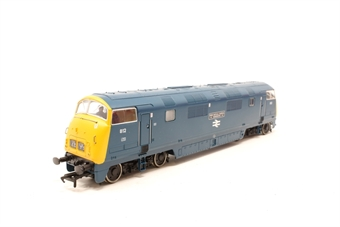 32-061-PO07 Class 42 Warship 812 'Royal Naval Reserve' in BR Blue - Pre-owned - missing buffer -  imperfect box