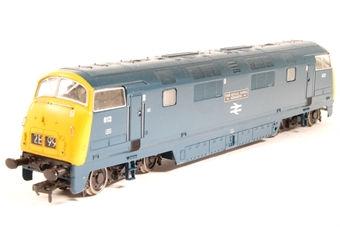 32-061-PO Class 42 Warship 812 'Royal Naval Reserve' in BR Blue - Pre-owned - DCC fitted - Missing buffer - Paint marks on body