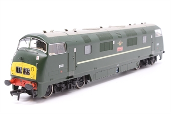 32-066-PO10 Class 43 North British (NBL) Warship D835 'Pegasus' in BR Green with Small Yellow Panel - Pre-owned - DCC Sound-fitted