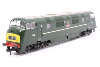32-066-PO11 Class 43 North British (NBL) Warship D835 'Pegasus' in BR Green with Small Yellow Panel - Pre-owned - DCC Sound-fitted
