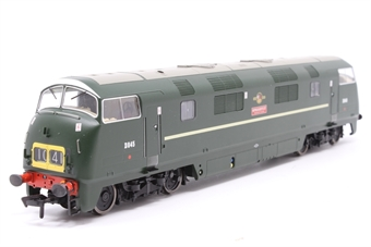 """32-066Z-PO Class 43 North British (NBL) Warship D845 """"Sprightly"""" in BR Green - Special Edition for Kernow - Pre-owned - Like new"""