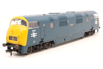 """32-067A-PO Class 43 Warship D836 """"Powerful"""" in BR blue - Pre-owned - Like new"""