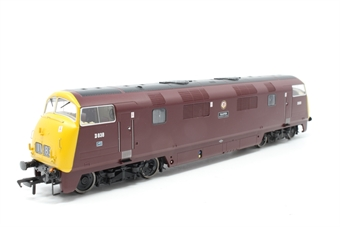 "32-068-PO03 Class 43 Warship D838 ""Rapid"" in BR maroon with full yellow ends - Pre-owned - Like new"