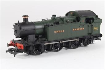 32-076 Class 56xx 0-6-2 tank loco 6676 in Great Western green