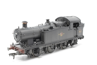 32-082-PO05 Class 56xx 0-6-2 tank loco 5639 in BR black with late crest (weathered) - Pre-owned - loose detail