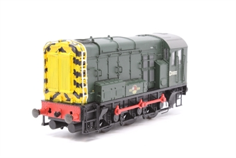 32-100-PO14 Class 08 Shunter D3022 in BR Green  - Pre-owned - renumbered and repainted front and rear end - imperfect box