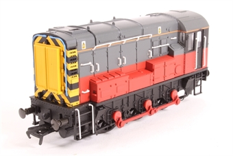 32-100Z Class 08 Shunter in RES Grey & Red Livery - Limited Edition of 516 Pieces for Model Rail (EMAP Publications)