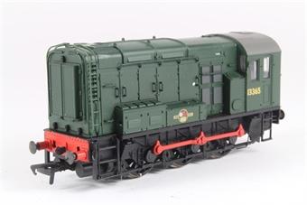 32-100 Class 08 Shunter 13365 in BR Green
