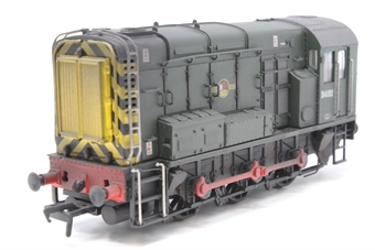 32-101B-PO02 Class 08 Shunter D4192 in BR Green - Pre-owned - DCC fitted - weathered